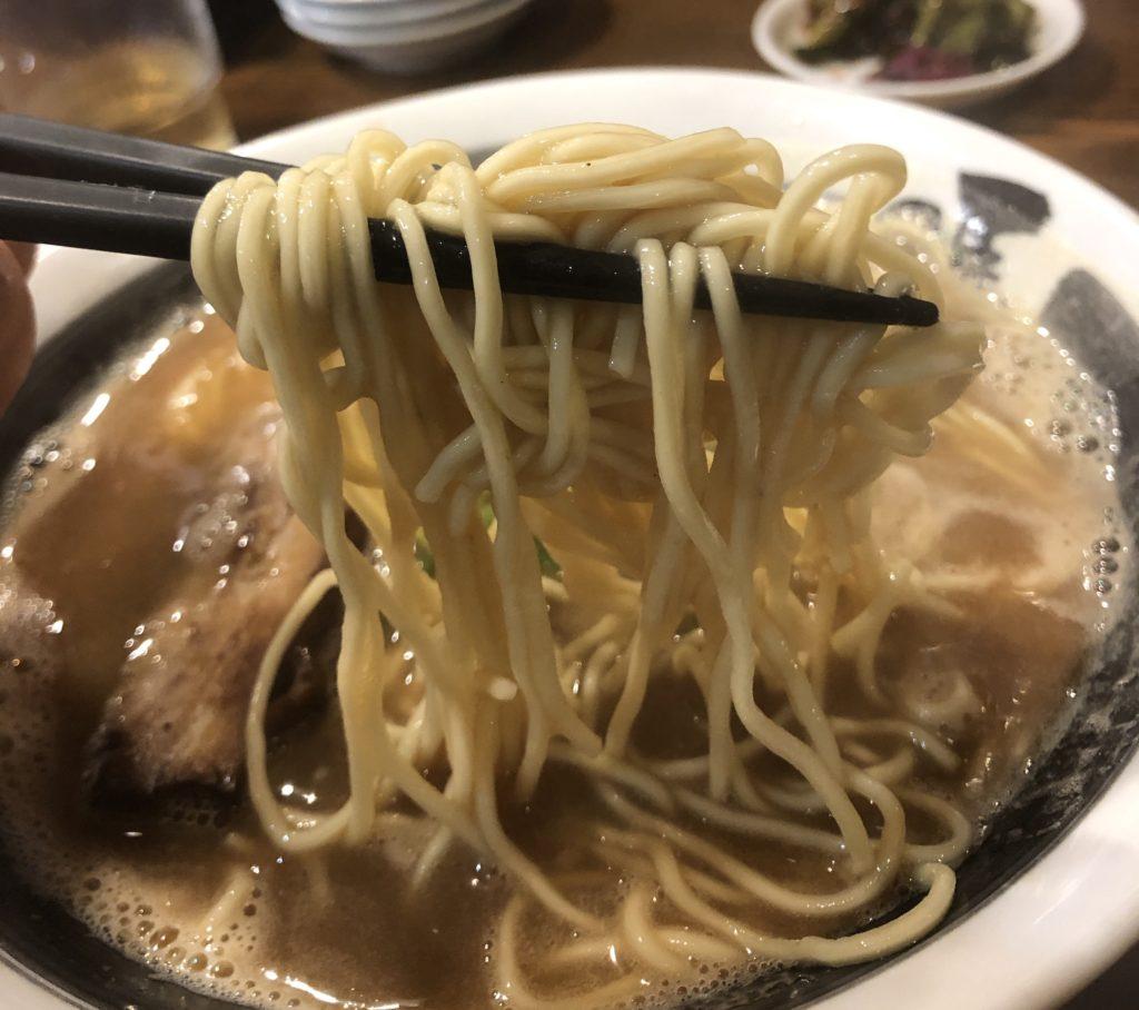 ばり馬らーめん麺